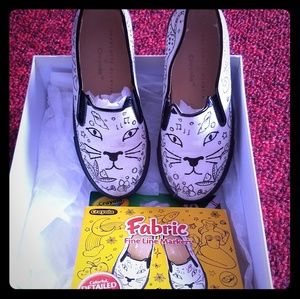 Charlotte Olympia cat sneakers
